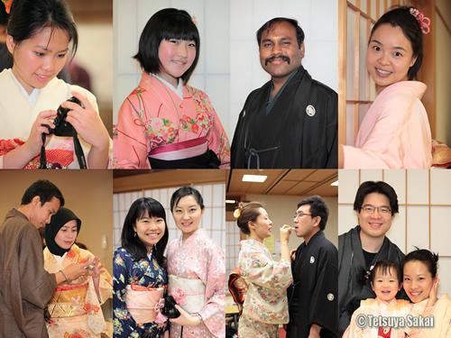 フレンドシップちよだ『着物着付けと写真撮影イベント』2011年1月22日