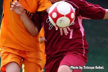 女子サッカー:フィオーレ武蔵野FCvs小平サッカークラブ