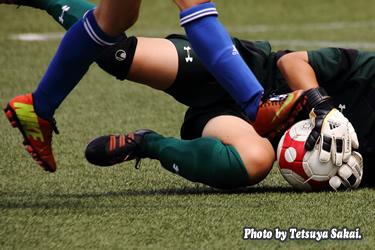 女子サッカー:慶應義塾大学vs日本体育大学サテライトB