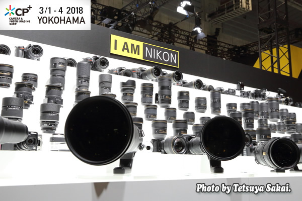 CP+(シーピープラス)2018:Nikonブース