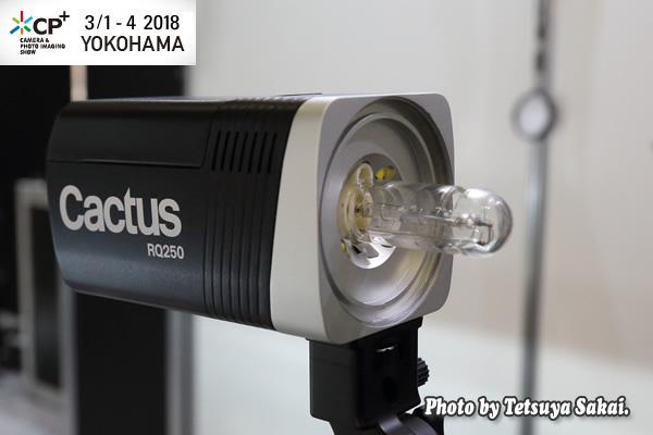 CP+(シーピープラス)2018:Cactus RQ250ワイヤレスモノライト